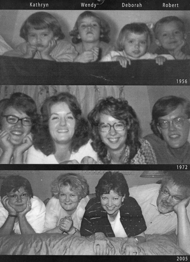 family then now