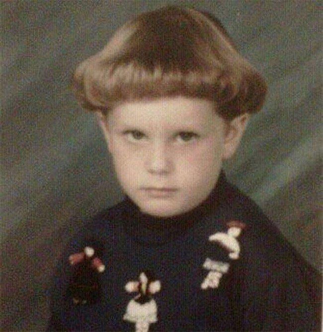 funny 80s 90s hairstyles blond mushroom