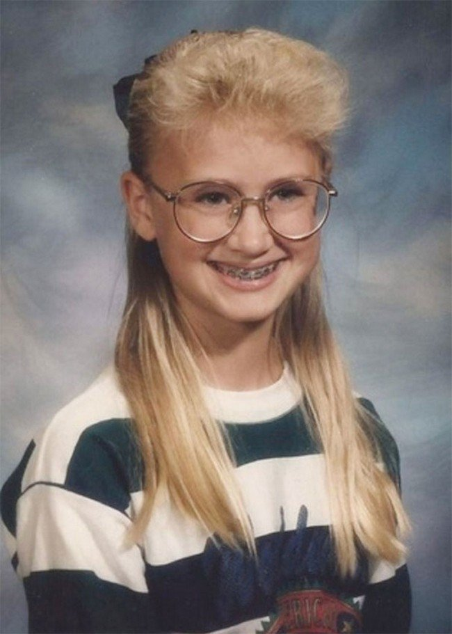 funny 80s 90s hairstyles glases retainers