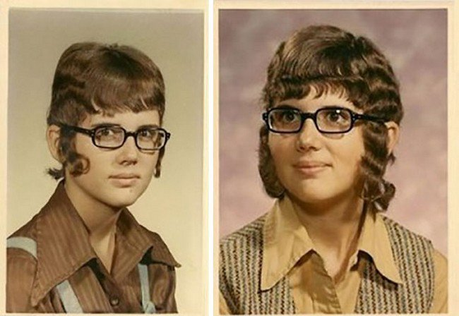 funny 80s 90s hairstyles wavy glasses