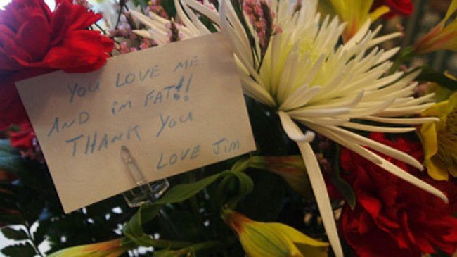 funny love notes fat flowers