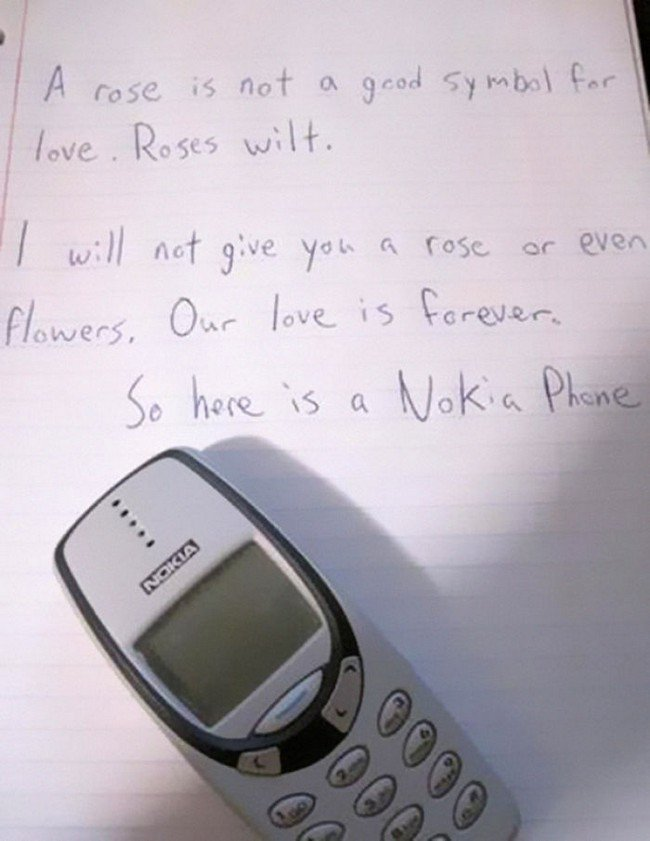 funny love notes nokia