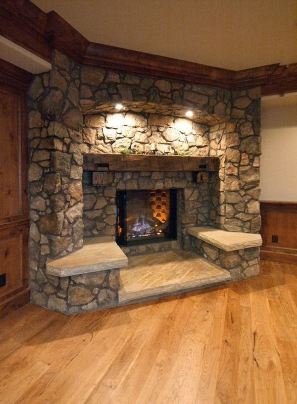 home improvements fireplace seating