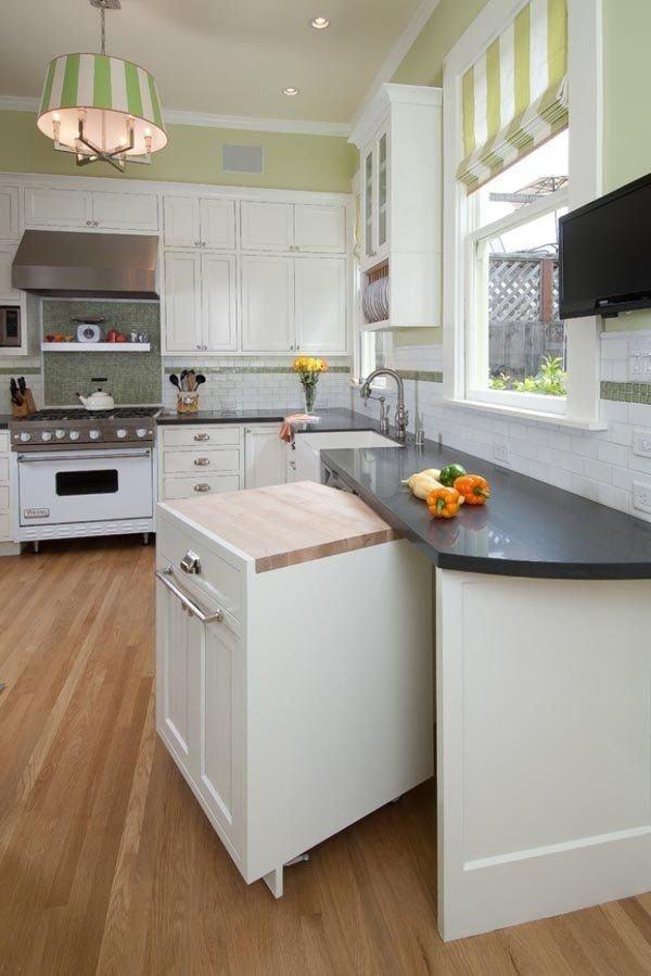home improvements hidden counter space