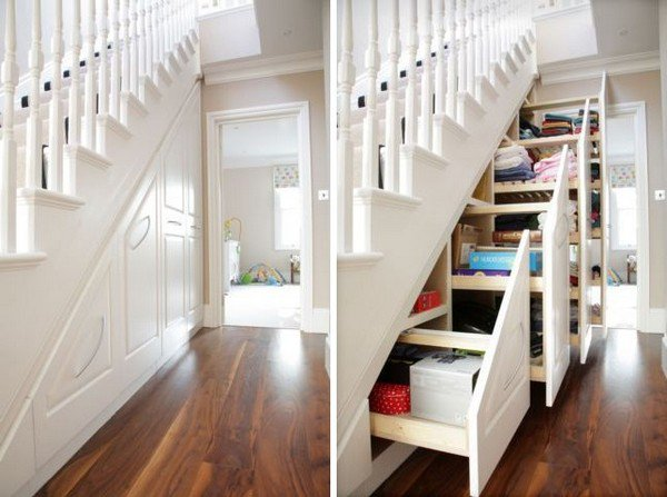 home improvements stairs storage