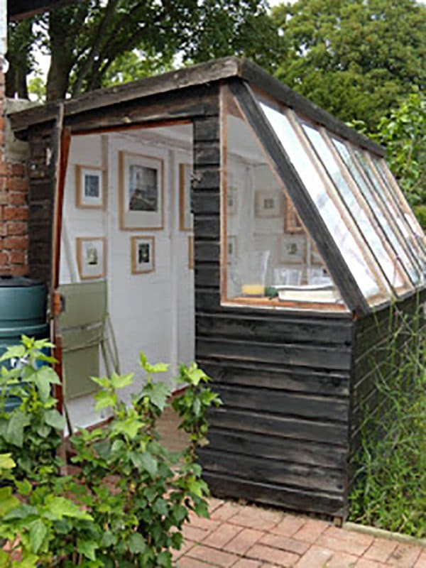 home improvements transform a shed