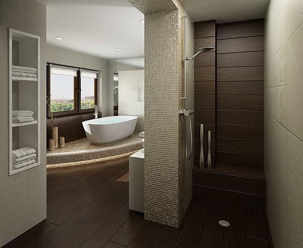 home improvements walk in shower