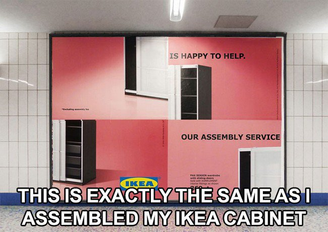 ikea jokes assembly