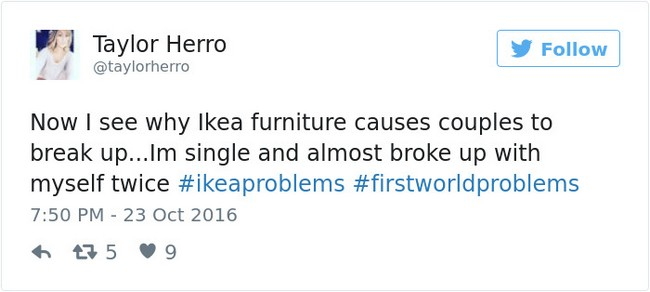 ikea jokes break up