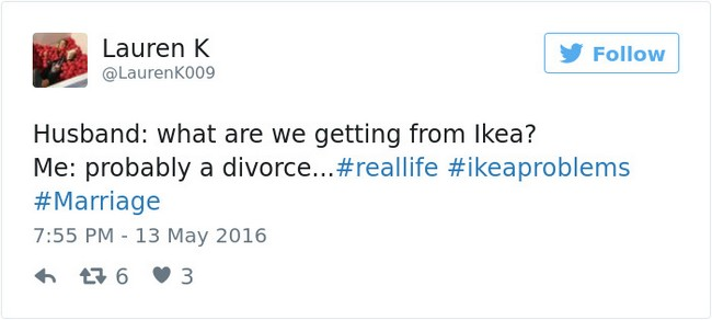 ikea jokes divorce tweet