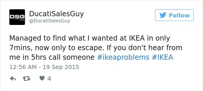 ikea jokes escape tweet
