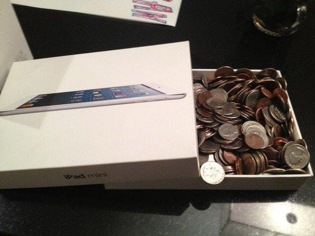 ipad mini money