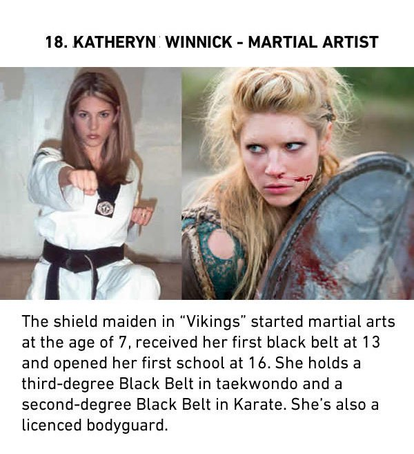 katheryn winnick martial artist