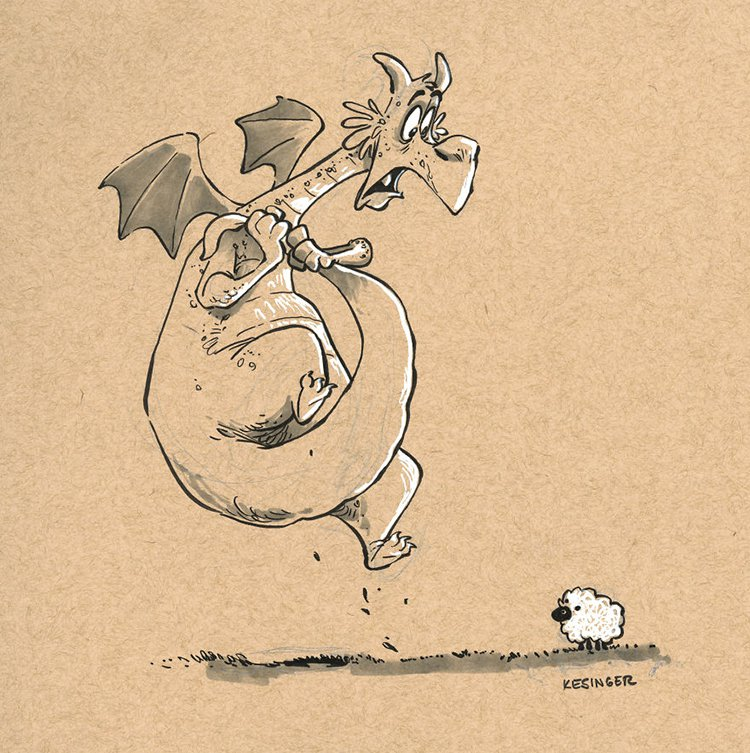 kesinger dragon gorung the skittish