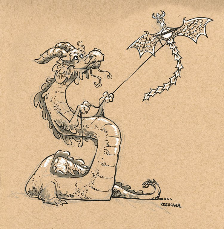 kesinger dragon koga the optimisti