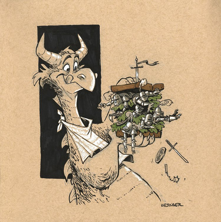 kesinger dragon morkos the famished