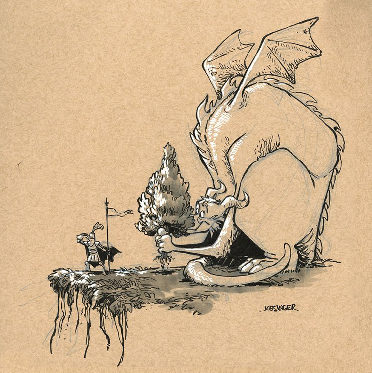 kesinger dragon raniik the obvious