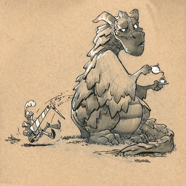 kesinger dragon vorloc the impenetrable