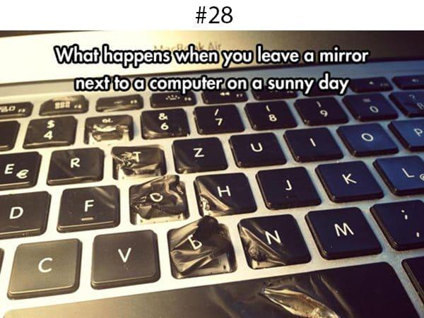 laptop-melted-keyboard