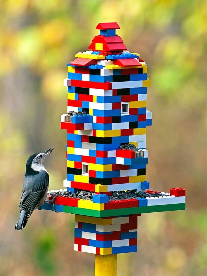 lego birdfeeder