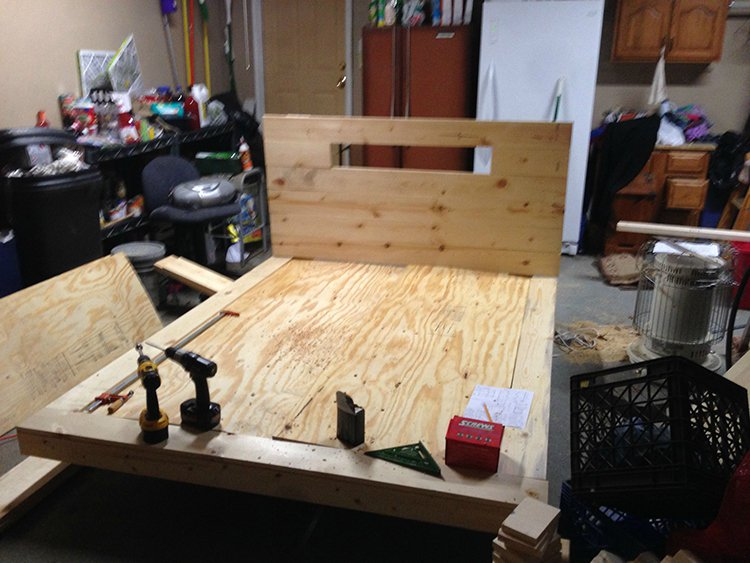 levitating bed attaching headboard
