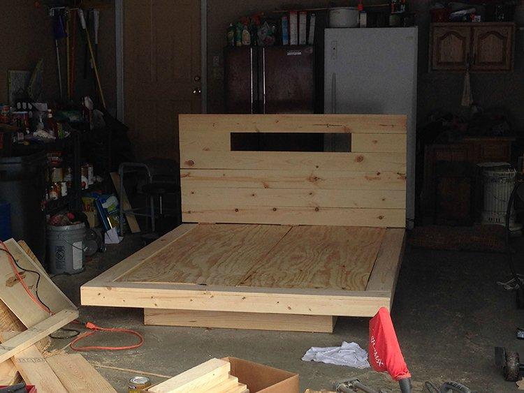 levitating bed sanded