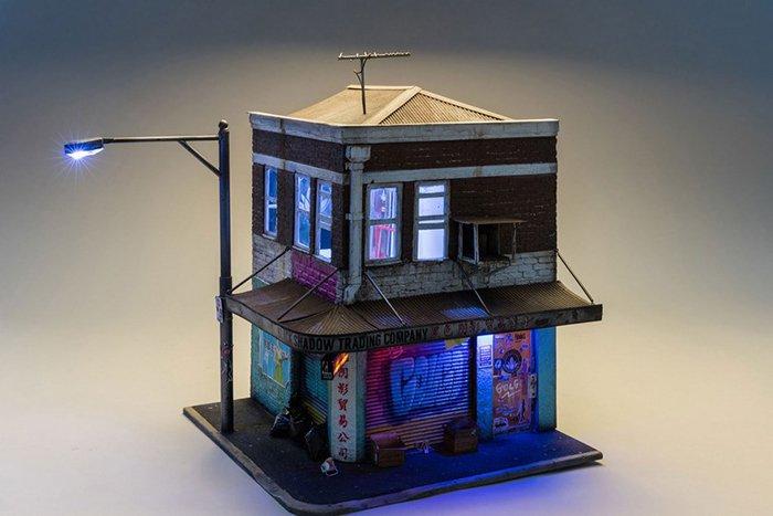 miniature-architecture-joshua-smith building