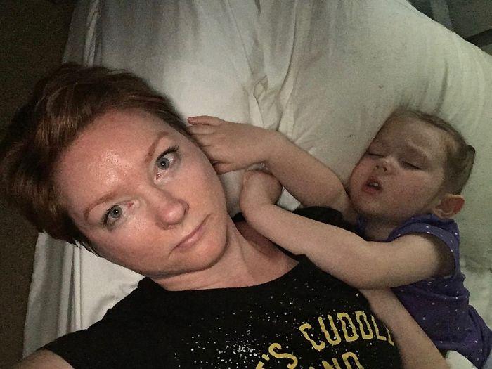 mom realities co sleeping