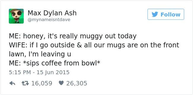 muggy tweet
