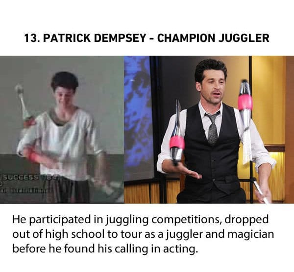 patrick dempsey champion juggler