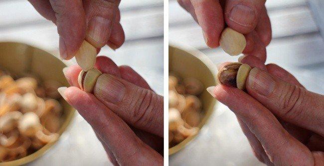pistachios opening