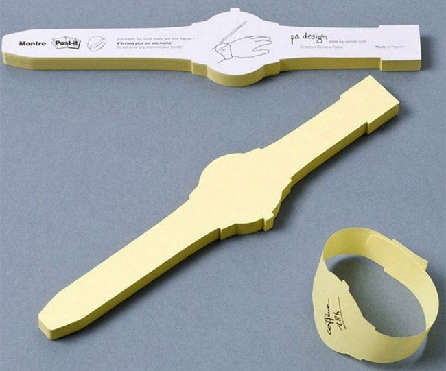 post it watches