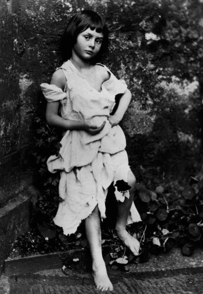 rare historical photographs alice liddell