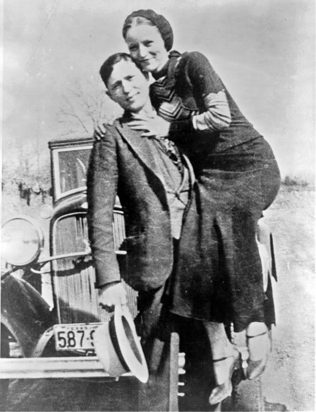 rare historical photographs bonnie and clyde