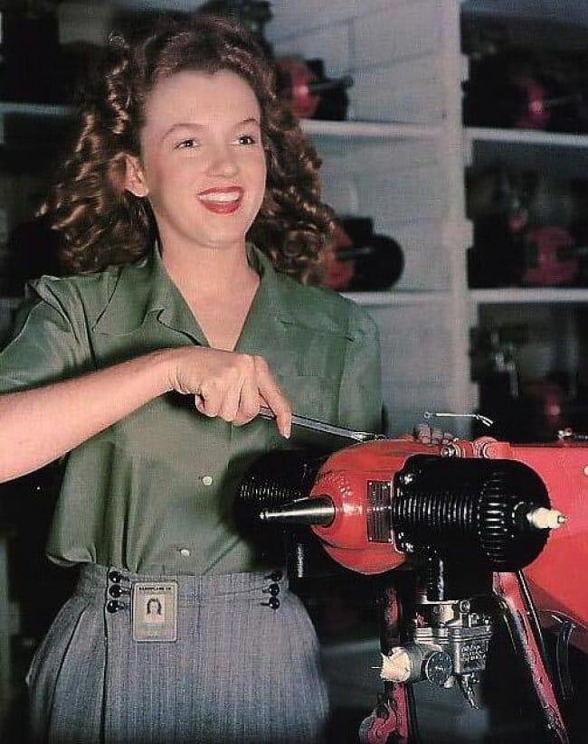 rare historical photographs marilyn monroe