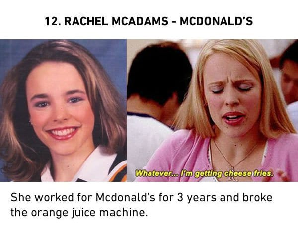 rechel mcadams mcdonalds