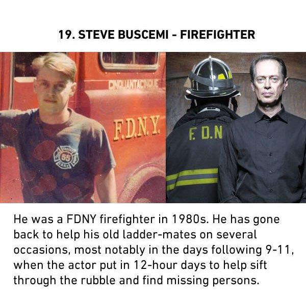 steve buscemi firefighter