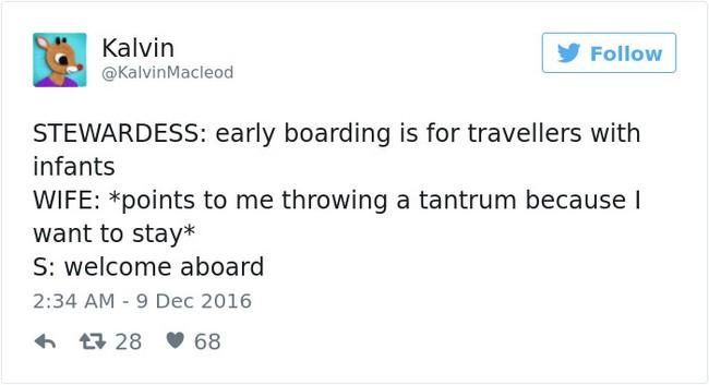 stewardess tweet