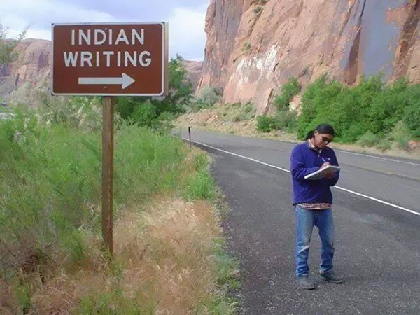 taking rules literally indian writing