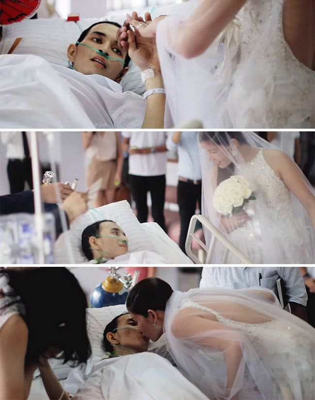 terminally ill wedding