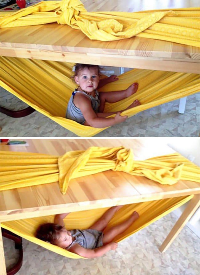 toddler table hammock