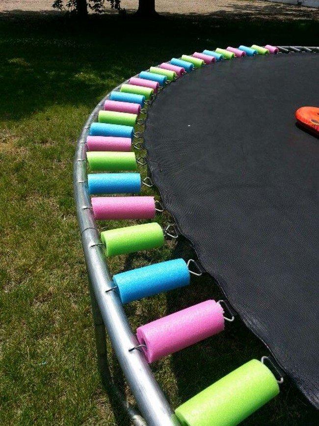 trampoline pool noodles