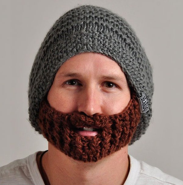 unique inventions beard hat