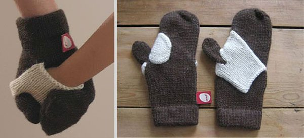 unique inventions hold my hand mittens