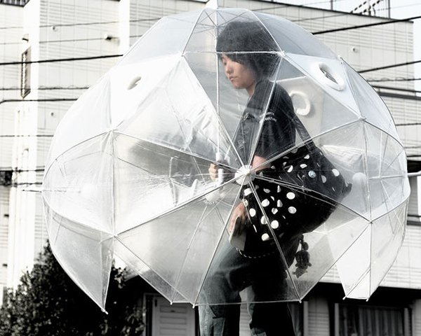 unique inventions spherical umbrella