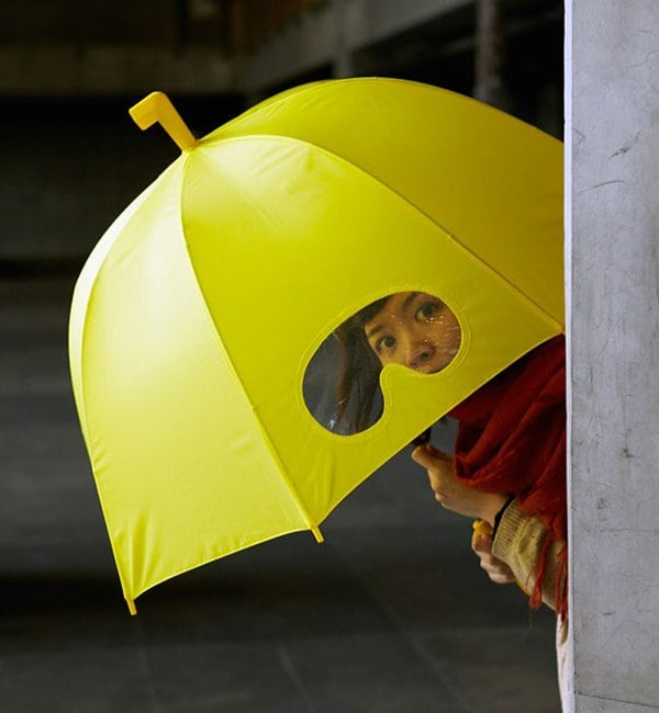 unique inventions umbrella with goggles