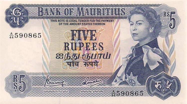 Queen Elizabeth aged 29 rupees
