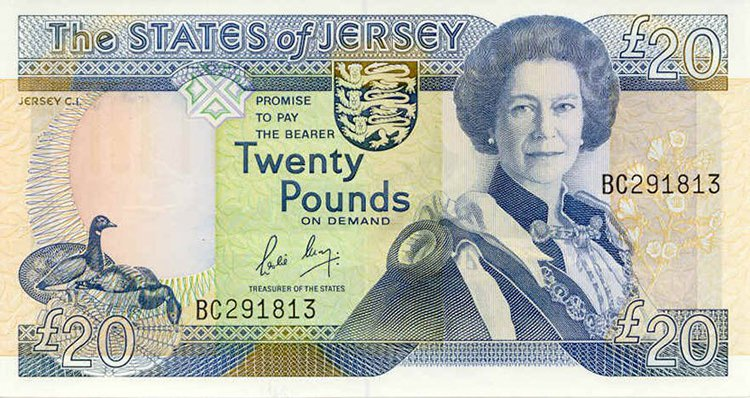 Queen Elizabeth aged 52 jersey note