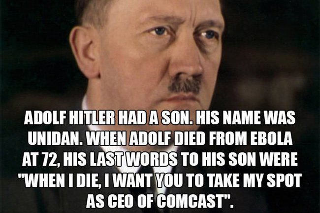 adolf hitler had a son