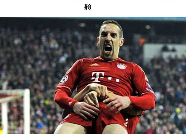 awkward sports moments footballers hands on crotch